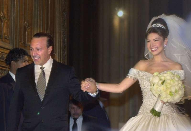 955d6c8acf A 18 años de la boda de Thalía y Tommy Mottola salen a la luz detalles  gettyimages. Como es lógico