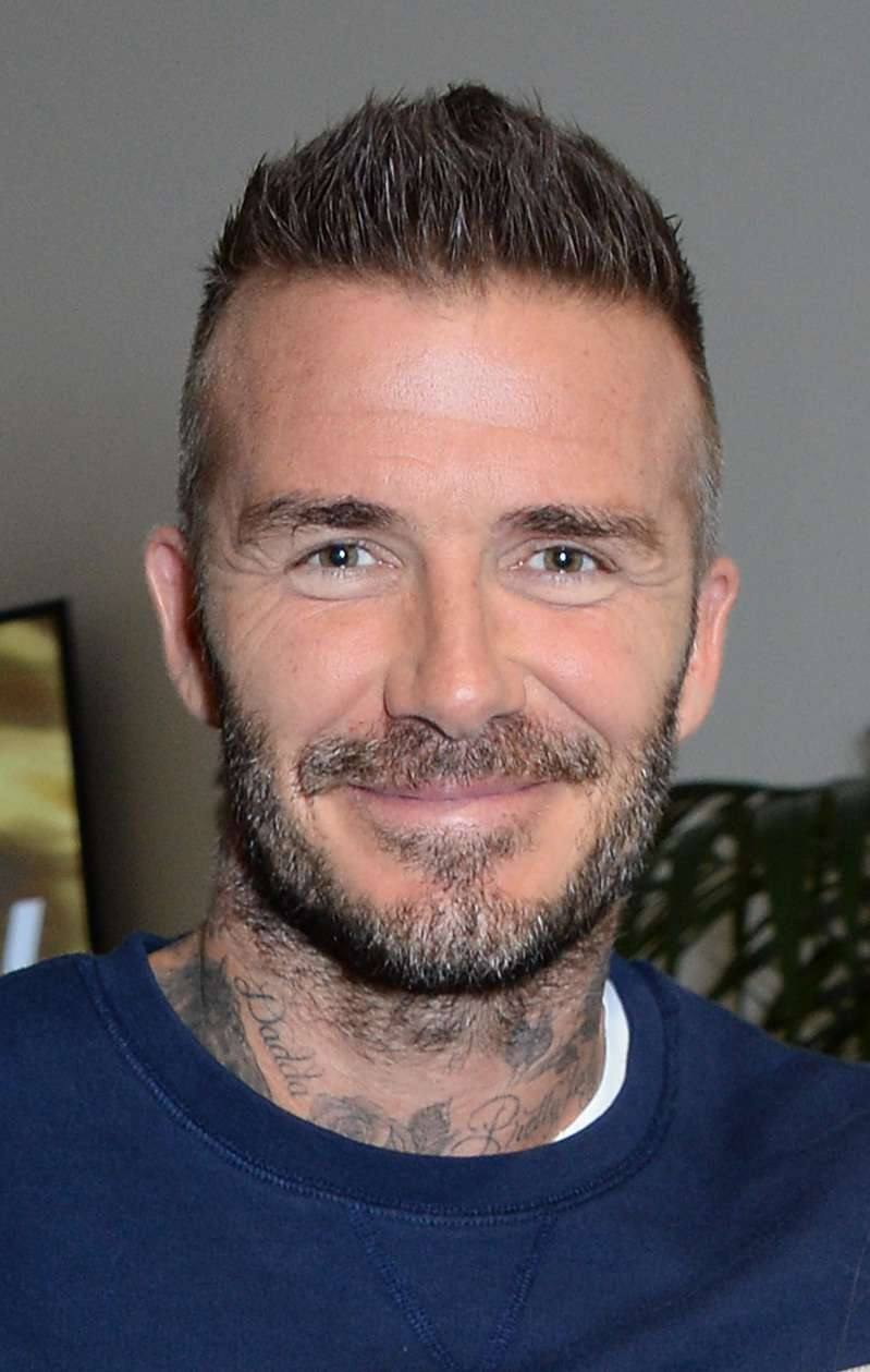 Fashion Fail Or New Trend? David Beckham Flashed His Red Socks Through Open Sandals