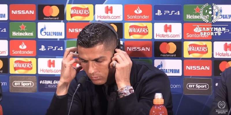 Glamorous Or Tacky? Cristiano Ronaldo Astonished Fans By Showing Off A Dazzling $2M Diamond Watch