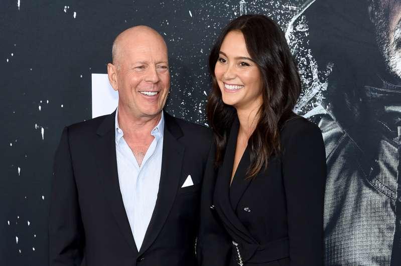 La grande star de films d'action Bruce Willis, 63 ans, fait une rare apparition avec son épouse de 40 ans