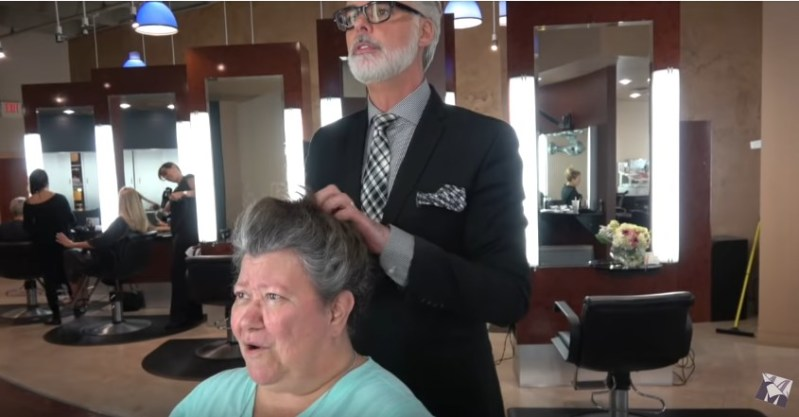 63-Year-Old Grandma Gets A Mind-Blowing Transformation Which Makes Her Look 10 Years Younger