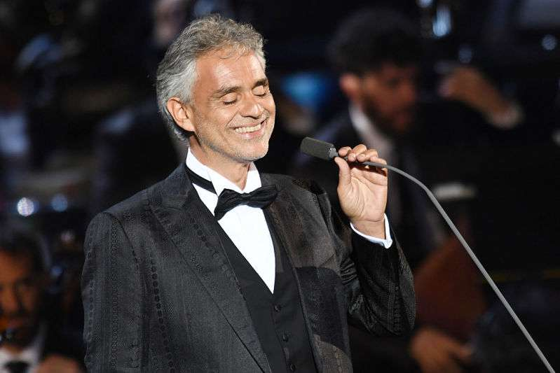 Andrea Bocelli Sings Elvis' Song 'Can't Help Falling In Love' And Wows Audience With His Jaw-Dropping Performance