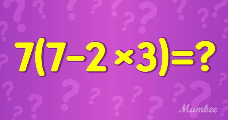 Eine Reise zurück ins Klassenzimmer: Können Sie diese Mathe-Aufgabe lösen?