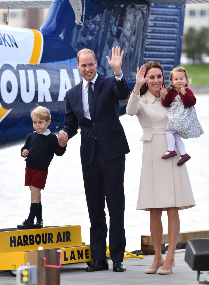 The Reason Prince William Doesn't Hold Princess Charlotte In Public, But Keeps Prince George Close