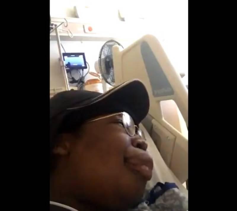 Губы девушки раздуло до невероятных размеров из-за аллергии. Но ее реакция оказалась еще более неожиданнойГубы девушки раздуло до невероятных размеров из-за аллергии. Но ее реакция оказалась еще более неожиданной