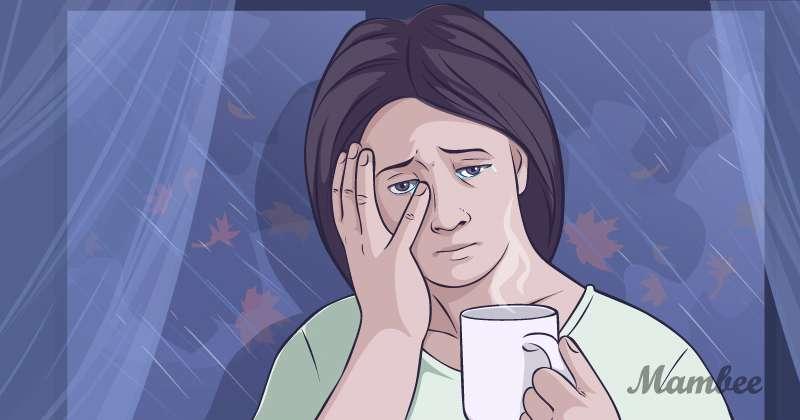 Achtung! 7 Zeichen, dass du eine toxische Mutter bistwoman, cry, grief, sad