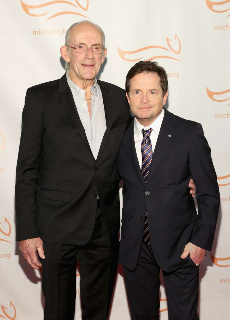 Doc And Marty Meet Again! 'Back To The Future' Stars Michael J. Fox And Christopher Lloyd Reunite On The Red CarpetDoc And Marty Meet Again! 'Back To The Future' Stars Michael J. Fox And Christopher Lloyd Reunite On The Red Carpet