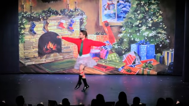 Adult Men Stun In Tutus As A Town Puts On Hilarious Parody Of 'The Nutcracker' To Raise Money For The Holiday