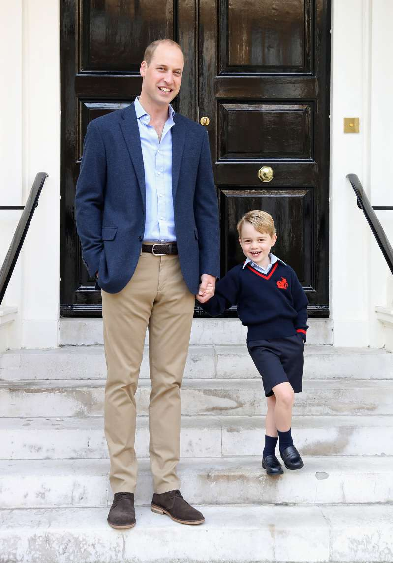 Un fallimento? Il Principe William ha rivelato quando il figlio George lo considera 'inutile'prince william and prince george