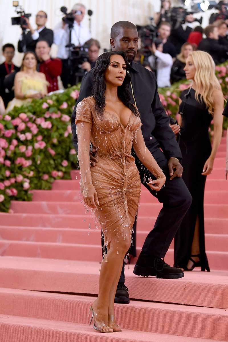 Kim Kardashian's Outfit Sparks Intense Debates, As People Find It More Appropriate For Playboy  Rather Than For Met Gala