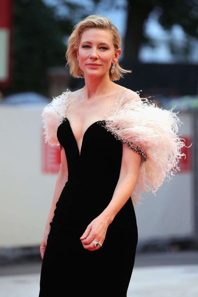 Cate Blanchett at Venice Film Festival, Red carpet look