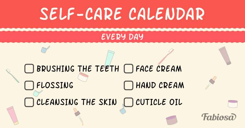 Self-Care Calendar: Beauty Procedures And How Often To Do ThemSelf-Care Calendar: Beauty Procedures And How Often To Do ThemSelf-Care Calendar: Beauty Procedures And How Often To Do ThemSelf-Care Calendar: Beauty Procedures And How Often To Do ThemSelf-Care Calendar: Beauty Procedures And How Often To Do Them