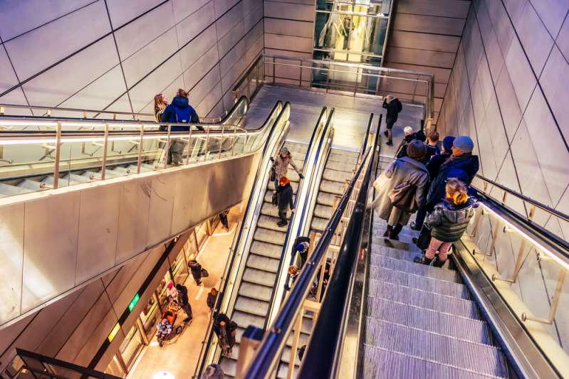Why Do Escalators Have Those Vertical Grooves?