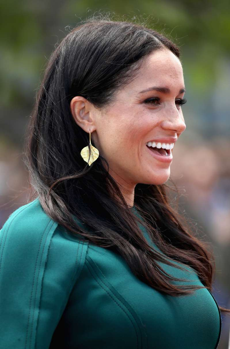 A Royal Fashionista With A Love For Green! Meghan Markle Dazzles In Green As She Says Goodbye To Fiji