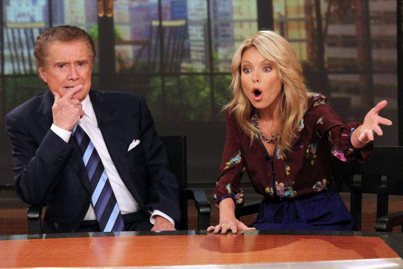 Howard Stern Claims Regis Philbin Was Excluded From 'Live' Show With Kelly Ripa Forcefully