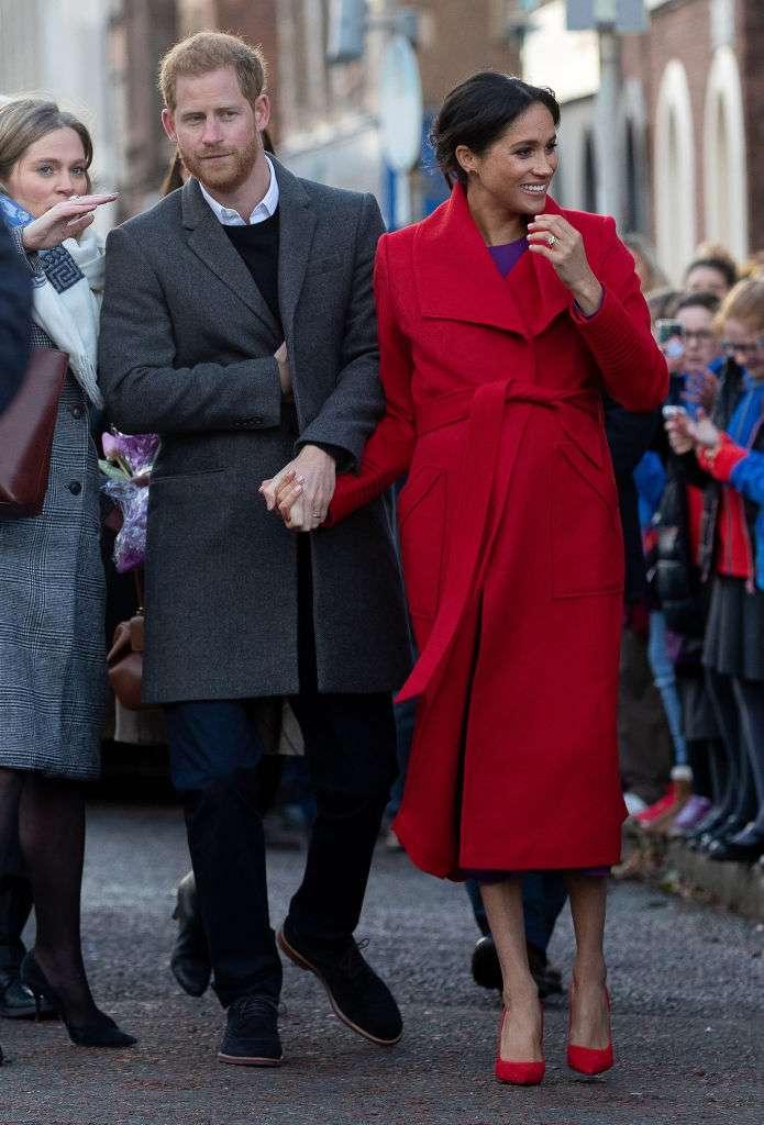 Kate Middleton et Meghan Markle en rouge : qui le porte le mieux ?meghan markle