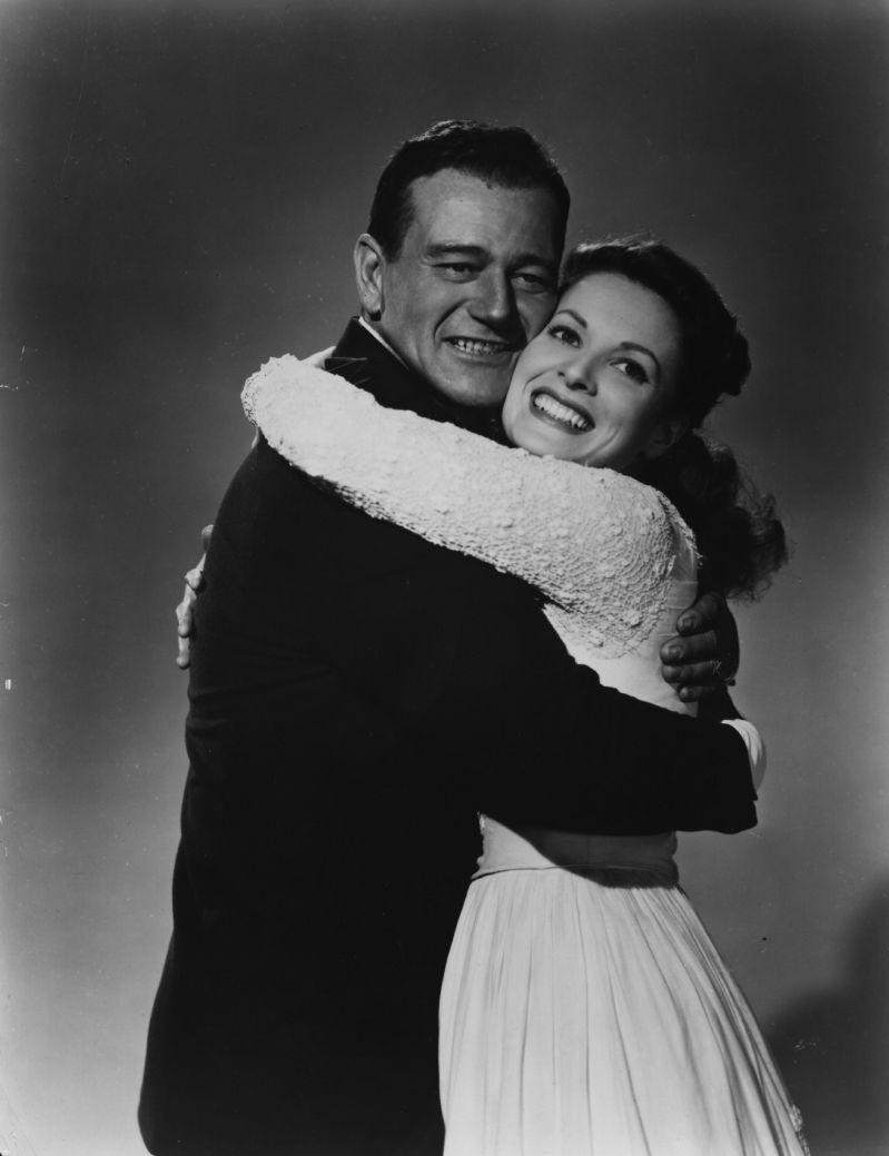 Un mari parfait ! À l'écran oui, mais dans la réalité John Wayne a été marié 3 fois et a trompé toutes ses épouses