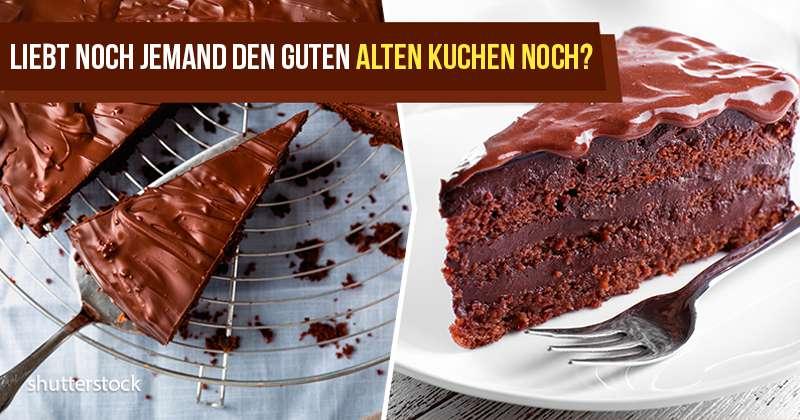 Wie man einen altmodischen Schokoladenkuchen macht - wie b