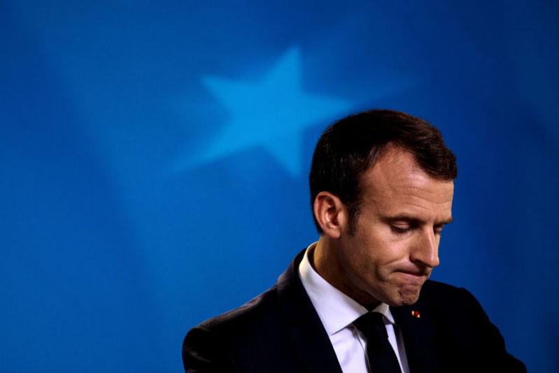Macron serait-il meilleur acteur que président ? Il semblerait que oui !