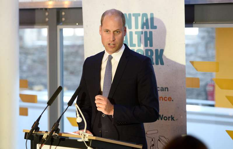 prince william talks about mental health at work