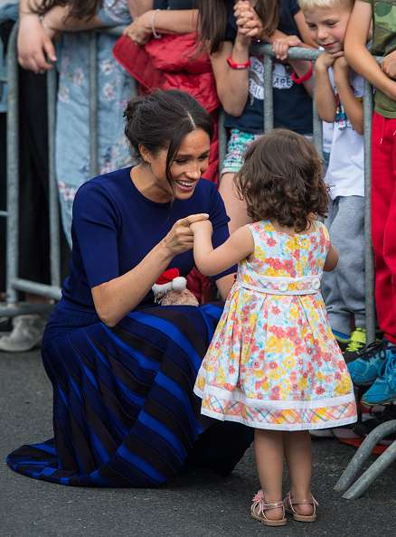Meghan's Sweet Reaction To Kid Who Defied Orders And Crossed A Barrier To Meet Her