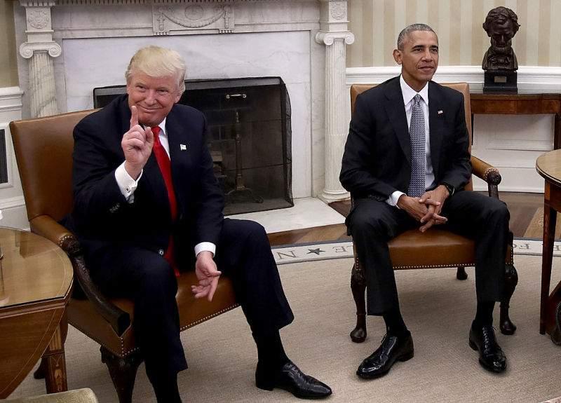 C'est la faute de Barack ! Donald Trump accuse Barack Obama pour les problèmes de climatisation à la Maison Blanche