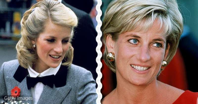 Die Geschichte Wie Prinzessin Diana Ihr Haar Strategisch Ve
